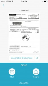 Scannable scan your receipts for your real estate investment property