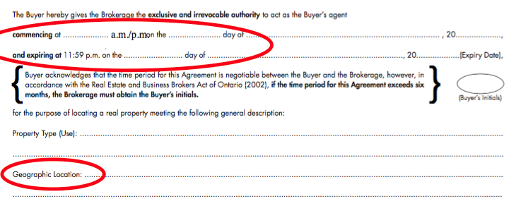 Buyer Representation Agreement Can I fire my real estate agent